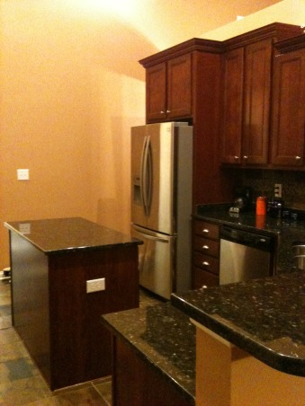 Our Open Plan Kitchen, We built our house in the Summer of 2010 and have added a ton of decorative ideas since. We couldn't be happier. I'm disabled so the kitchen allow me to cook even when I am fatigued.  , We used the same paint color to unify the Kitchen with the Great room.  , Kitchens Design