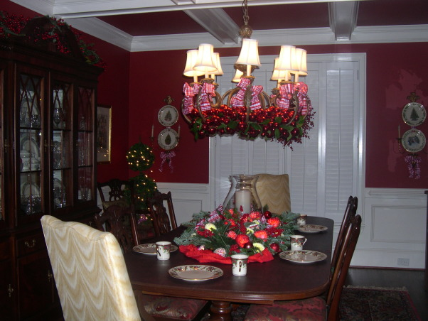 Christmas 2012 - Dining Room, Holidays Design