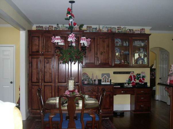 2012 Christmas - Kitchen, Breakfast Room and Sunroom, Holidays Design