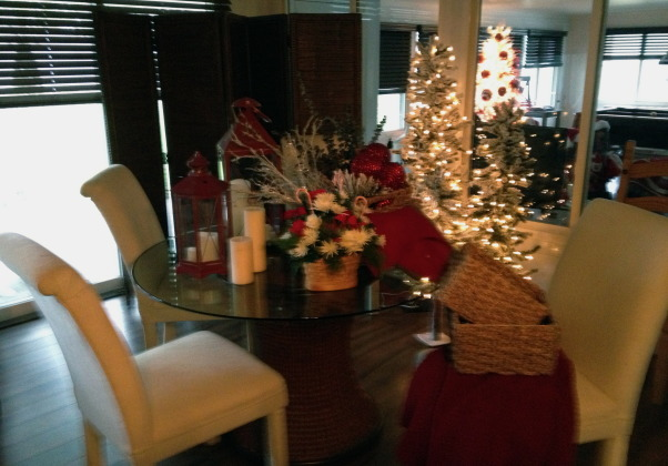 Christmas Time, patio with all the Christmas decor, Holidays      Design