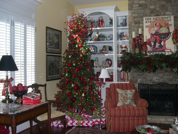 Christmas 2012 - Family Room, Holidays Design