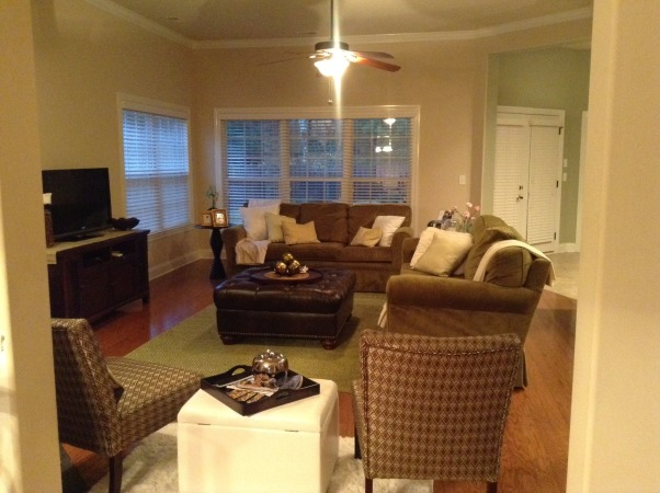 Family room, Shades of green, Living Rooms Design
