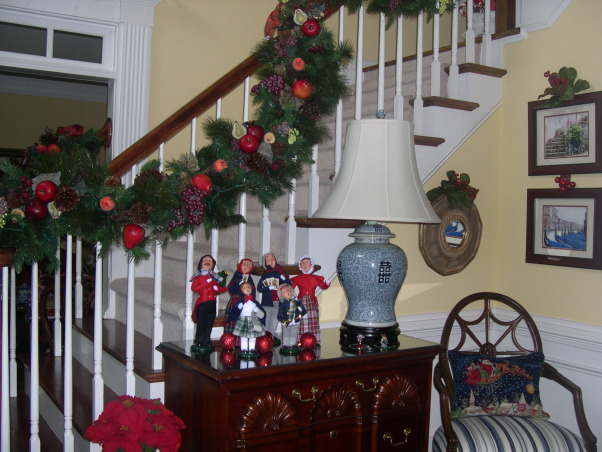Merry Christmas to All, Christmas 2012 -  Foyer, Holidays Design