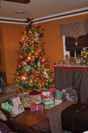 Christmas 2012, It's the Most Wonderful Time of the Year!, Playroom Rotating Tree, I hate to take it all down, but I guess its time. , Holidays Design
