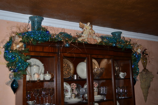 Christmas 2012, It's the Most Wonderful Time of the Year!, Blue Garland   , Holidays Design