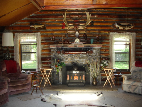 Christmas At The Cabin, The Living Room decorated for Christmas in our C1900 log cabin in Wyoming, This is the Living Room on the day we first saw the cabin. We have almost completely redone the cabin. The kitchen is the only room left!  Wish us luck!  :- , Living Rooms Design