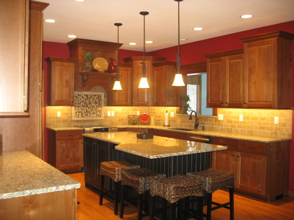 Out with the '90's Kitchen, We remodeled our Kitchen from the dated space from the 1990's.  , Kitchens Design
