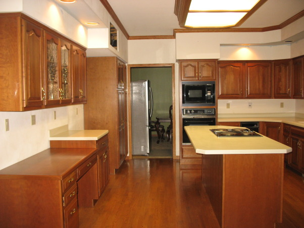 Out with the '90's Kitchen, We remodeled our Kitchen from the dated space from the 1990's.  , Before. , Kitchens Design