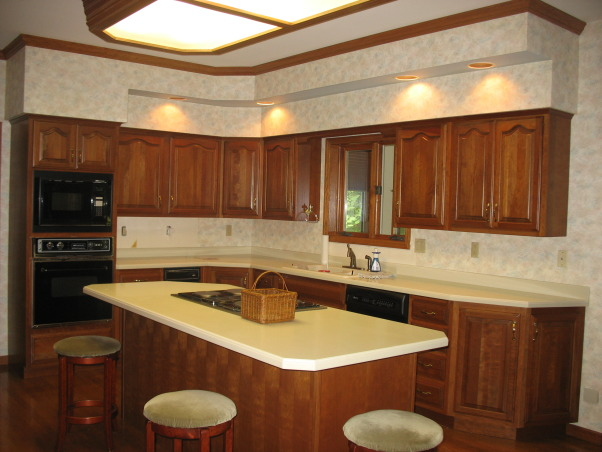 Out with the '90's Kitchen, We remodeled our Kitchen from the dated space from the 1990's.  , Before., Kitchens Design