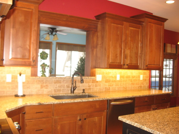 Out with the '90's Kitchen, We remodeled our Kitchen from the dated space from the 1990's.  , We had the window removed to the sunroom. , Kitchens Design