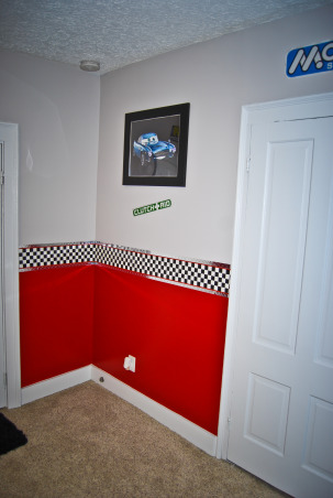 Disney Cars Bedroom, Disney Cars theme bedroom Includes a stoplight and a gas pump gumball machine, Boys' Rooms Design