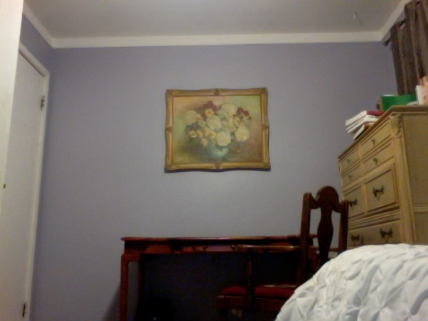 My newly designed room :), Lots of purple. Modern and classic elements. A little eclectic.  , Bedrooms  Design
