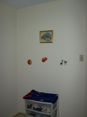 6 year old sons room, Sporty!, decals , Boys' Rooms Design
