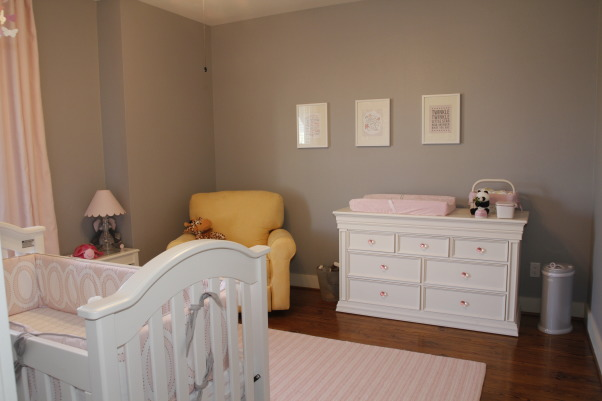 Pink & Gray Alina's Baby Nursery, Pink and Gray Nursery for my Baby Girl, Pink and Gray Nursery, Nurseries Design
