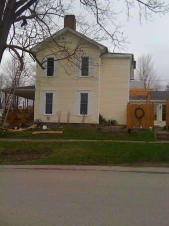 ou old house updated, Home Exterior Design