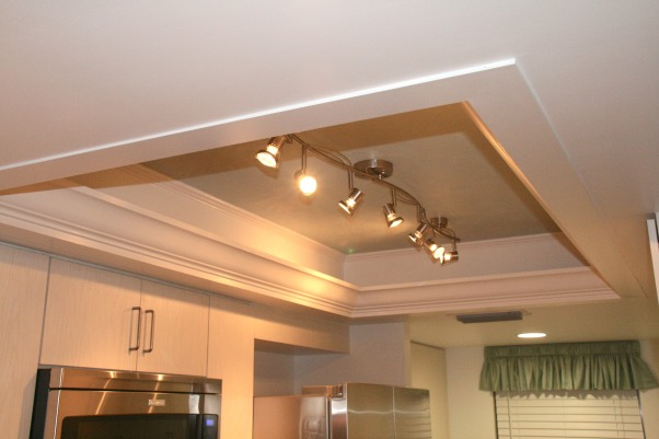 Daytona Beach Shores Condo Kitchen, Kitchen remodel from 1970's beachfront condo in Daytona Beach Shores, New recessed lighting. , Kitchens Design