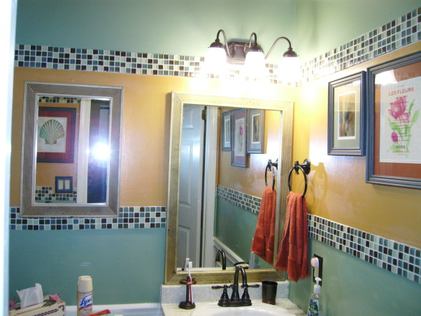Energy and Calm Powder Room, Done!!!, Bathrooms Design