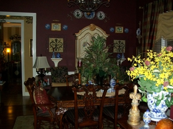 Garden Bugs Home, Our Dining room, I like the Eclectic style. Your home is what you make it and you should be happy there. My husband and I do all the work, he is very handy., Dining Rooms Design