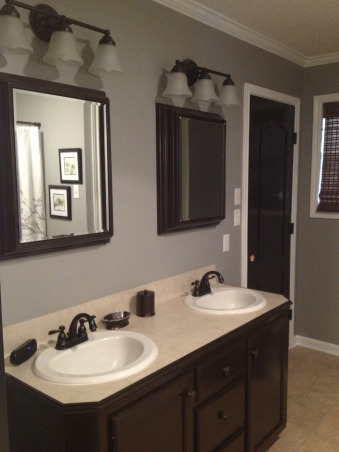 Bathroom Redo, Before and after pic, After, Bathrooms Design