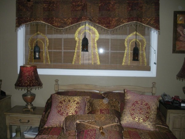 Moroccan Retreat Suite, Our bedroom dressed with a Moroccan decor., Bedrooms Design