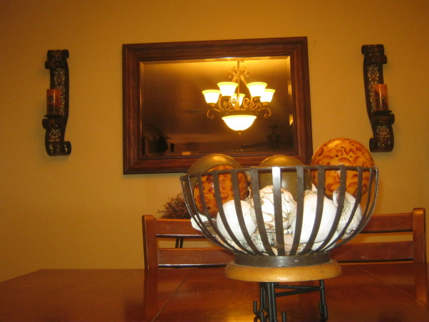 Niki's Dining space , Our family Dining area, Center peace nice, Dining Rooms Design