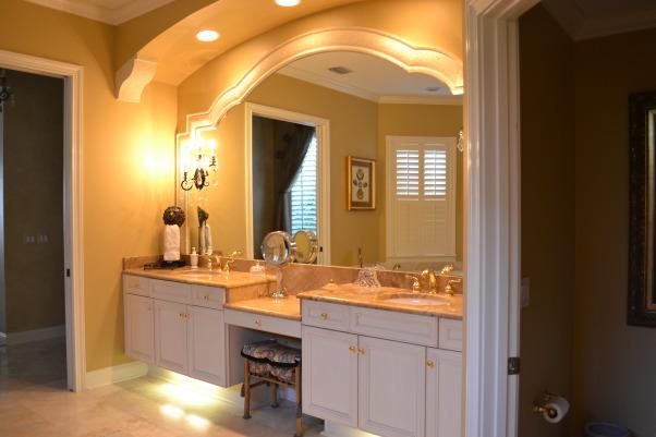 Old World/ Mediterranean Bedroom, Masterbath   , Bedrooms Design