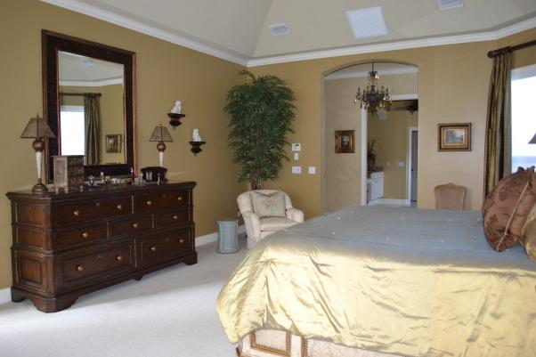 Old World/ Mediterranean Bedroom, Bedrooms Design