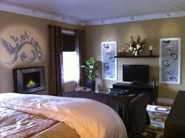Guest Bedroom on a Budget, Blank Space Turned Guest Bedroom on a Tight Budget, Bedrooms Design