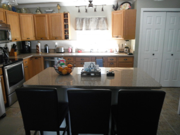 Our short sale Kitchen makeover, Short sale kitchen was short on cabinets,appliances,countertops,you name it!, Lots of light..., Kitchens Design