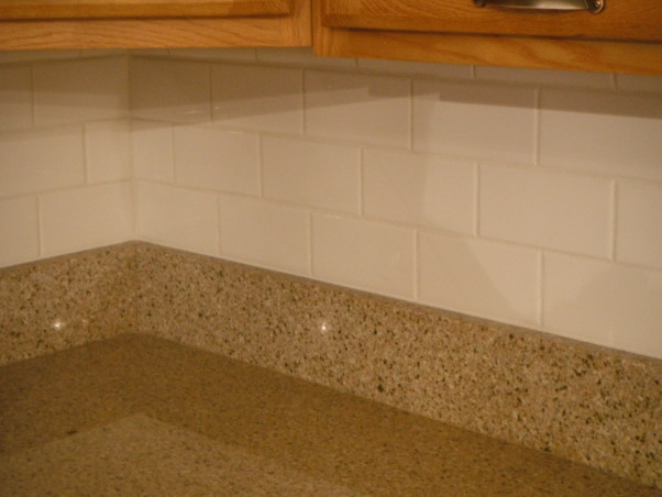 Our short sale Kitchen makeover, Short sale kitchen was short on cabinets,appliances,countertops,you name it!, Subway tile backsplash, Kitchens Design
