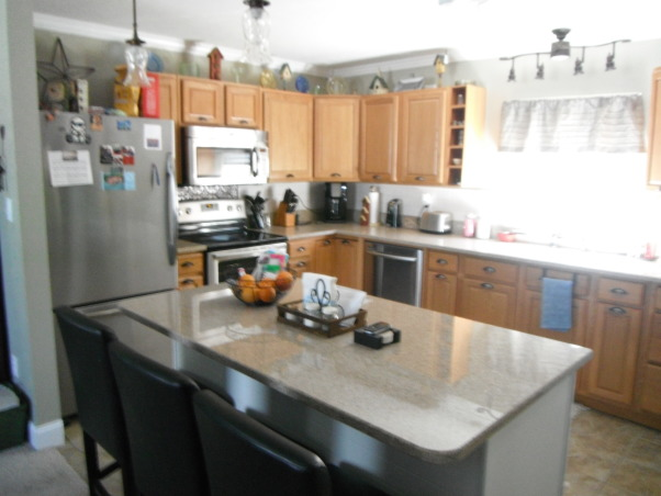 Our short sale Kitchen makeover, Short sale kitchen was short on cabinets,appliances,countertops,you name it!, Kitchens Design