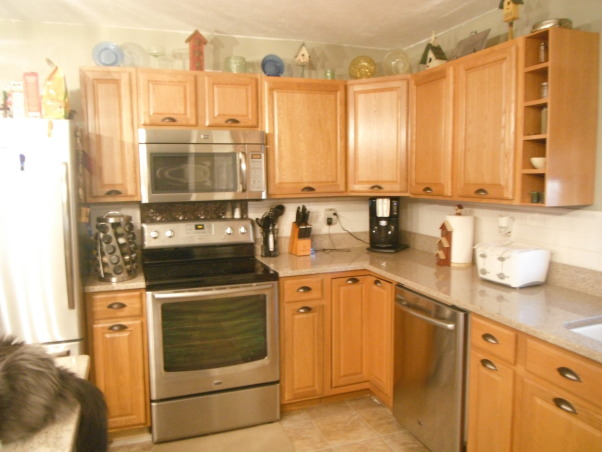 Our short sale Kitchen makeover, Short sale kitchen was short on cabinets,appliances,countertops,you name it!, Added some more cabinets, Kitchens Design