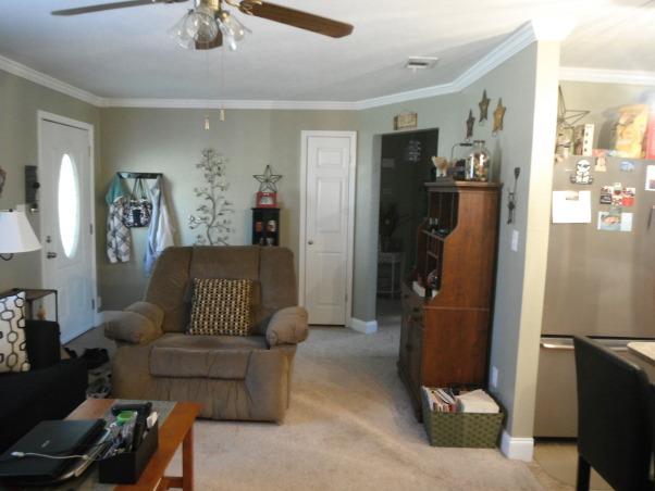 our short sale Living room makeover, we bought a short sale home with nothing in it and redid the entire space. , Living Rooms Design