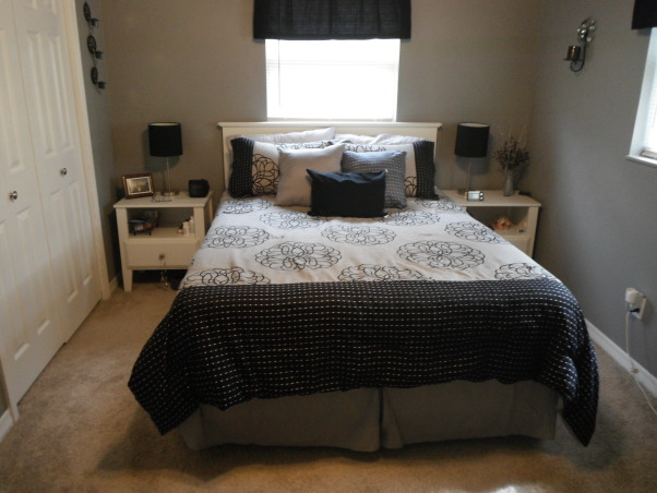 Master Bedroom Re-Do, Everything in this bedroom was redone., New paint, window coverings.. , Bedrooms Design