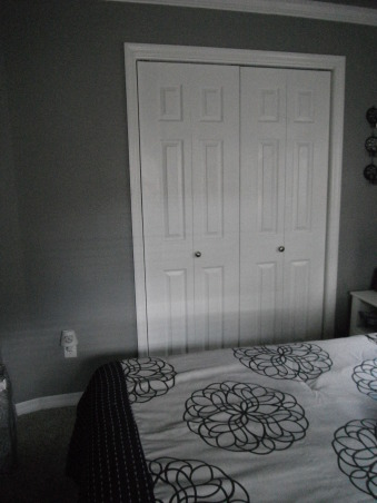 Master Bedroom Re-Do, Everything in this bedroom was redone., new closet doors. , Bedrooms Design
