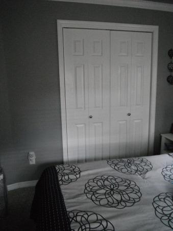 Master Bedroom Re-Do, Everything in this bedroom was redone., new closet doors. , Bedrooms Design