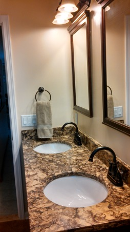 Beautiful Remodeled Bathroom, Small Updated Bathroom, Delta Bathroom Products , Bathrooms Design