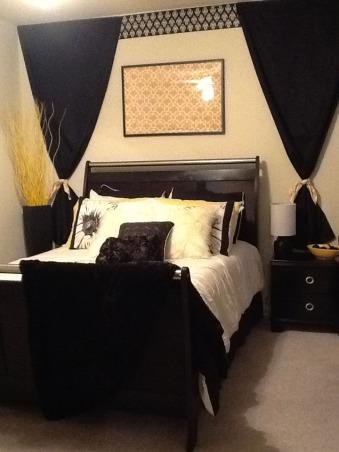 Bizzy Bee, Black and Yellow room, Bedrooms Design
