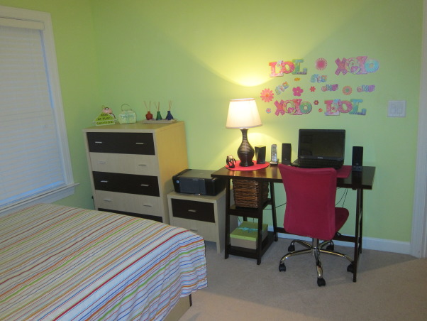 In $350 teen's room make over, Girls' Rooms Design