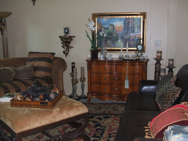 Reading room, This is where we read and sometimes visit with friends., Living Rooms Design