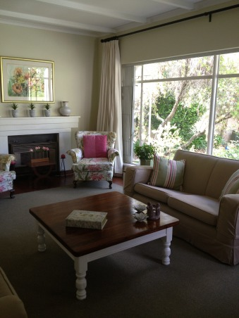 """Family living, I hope I have created a welcoming space.  I wanted my children to feel comfortable there, but I also wanted to feel that it looked """"dressed"""".  For me, it is a calm space that I can update and change easily with new pillows, and perhaps by recovering the wing backs and changing the carpet.  It is neutral but not boring., How much brighter does it look now?, Living Rooms Design"""