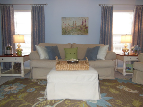 Cottage-style  Family Room,    , Living Rooms Design
