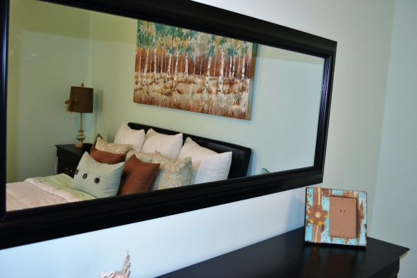 """Modern Retreat , This is my 15 year old sisters room that my mother and I redecorated. She said wanted """"something more adulty"""". Its a little more modern then the rest of the house, but she loves it and that's what matters., Bedrooms Design"""