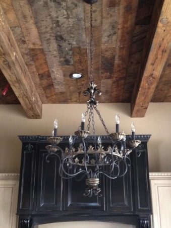 Cajun kitchen done the fancy way, I wanted a comfortable beautiful classic space , Custom reclaimed  wood ceilings , Kitchens Design