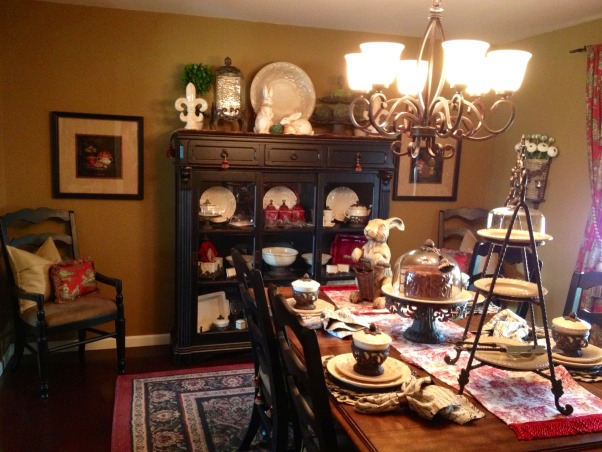 Feeling French Country 5 years later....., I love french country!  Welcome to our dining room!  I can't promise the food will be great, but the service is good!  I collect GG Collection, formaly known as Gracious Goods.  Hope you like it!  :), Dining Rooms Design