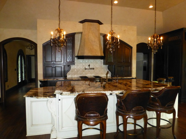 Kitchen Remodel, Designed after visiting the Kenwood Inn and Spa in Napa Valley, Kitchen island, Kitchens Design