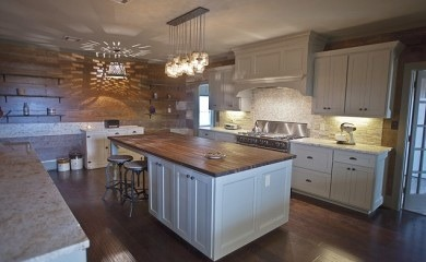 Newly remodeled kitchen, We had our old farmhouse kitchen remodeled using old barn wood found on our place!, This is our kitchen in our farm house that has just been remodeled. We used old barn wood through out this project!, Kitchens Design