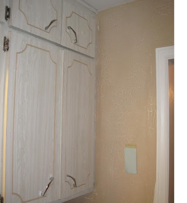 kitchen cabinet re-do it yourself, Dated to shaker style, Old routed formica cabinet door., Kitchens Design