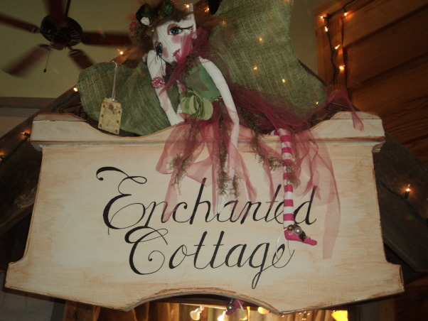 Flea Market Style Decor, My passion for decor has now branched out into my new little shop. I rent this room in a beautiful building to sell my flea market, shabby chic, hand crafted, and upcycled home decor finds.  , whisical fairy on my shop sign, Other Spaces Design