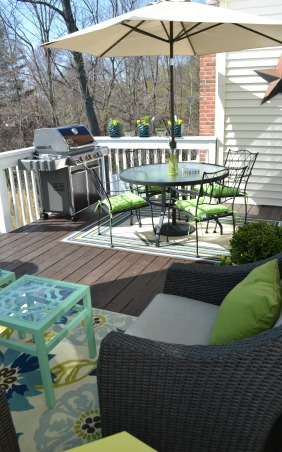 Updated deck, I'm going to spend all summer out here!, Patios & Decks Design
